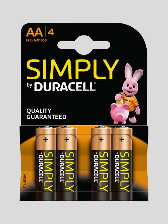 Duracell AA Batteries (4 Pack), , hi-res