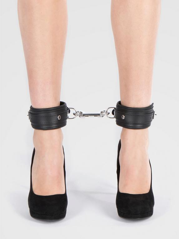 DOMINIX Deluxe Leather Ankle Cuffs, , hi-res
