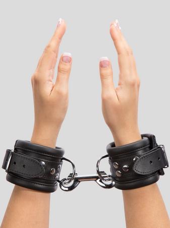 DOMINIX Deluxe Heavy Leather Wrist Cuffs