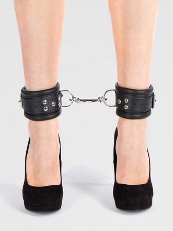 DOMINIX Deluxe Heavy Leather Ankle Cuffs