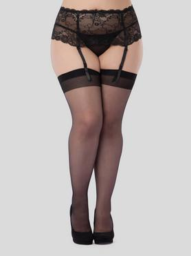 Bas transparents grande taille, Lovehoney