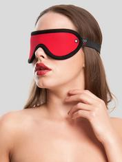 Bondage Boutique Soft Red Blindfold, Red, hi-res