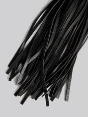 Bondage Boutique Faux Leather Flogger, Black, hi-res