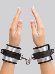 Fifty Shades of Grey Totally His Soft Handcuffs, Silver, hi-res
