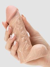 BASICS Realistic Dildo 5 Inch, Flesh Pink, hi-res
