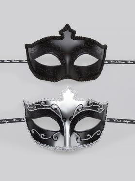 Pack de 2 Antifaces de Fiesta de Cincuenta Sombras de Grey