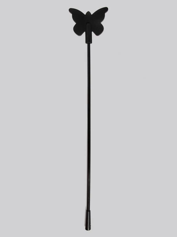 Cravache papillon en silicone pour débutants, Bondage Boutique, Noir, hi-res