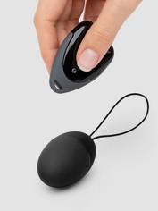 Alive 10 Function Remote Control Vibrating Love Egg, Black, hi-res