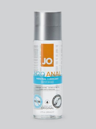 System JO H2O Water-Based Anal Lubricant 2 fl oz