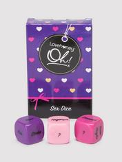 Lovehoney Oh! Foreplay Dice (3 Pack), , hi-res