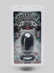 Doc Johnson American Bombshell Ultra Girthy Butt Plug 5 inch, Black, hi-res