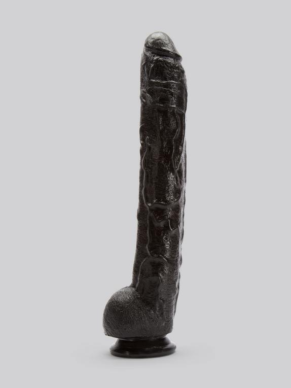Doc Johnson Dick Rambone Black Cock 13.5 Inch, Black, hi-res