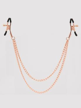 Entice Tiered Intimate Rose Gold Nipple Clamps