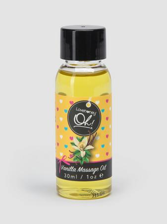 Lovehoney Oh! Vanilla Kissable Massage Oil 1.0 fl.oz