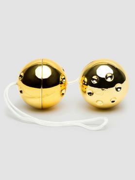Duo boules de geisha dorées, BASICS