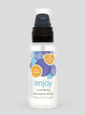 Lubrifiant intime à base d'eau Enjoy 100 ml, Lovehoney