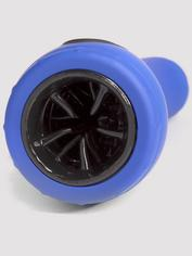 Apollo Hydro Power Stroker Vibrating Male Masturbator with Suction Cup, Blue, hi-res