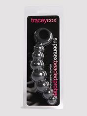 Tracey Cox Supersex Silicone Beaded Anal Prober, Black, hi-res