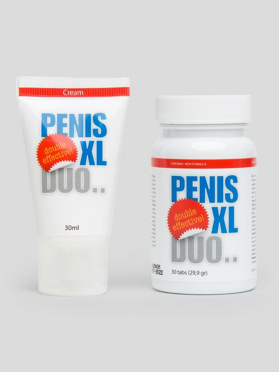 Penis XL Duo Food Supplement and Cream (30 Tablets / 30ml Cream), , hi-res