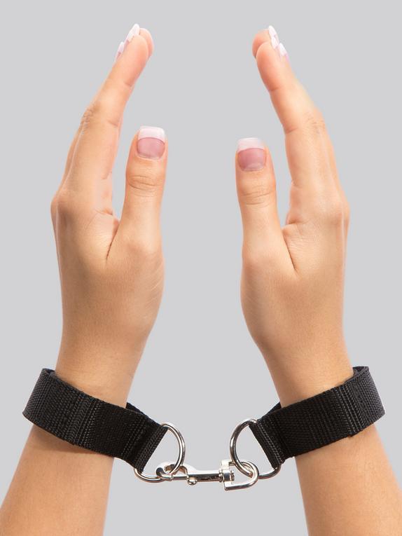 BASICS Wrist Cuffs, Black, hi-res
