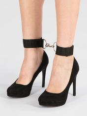 BASICS Ankle Cuffs, Black, hi-res