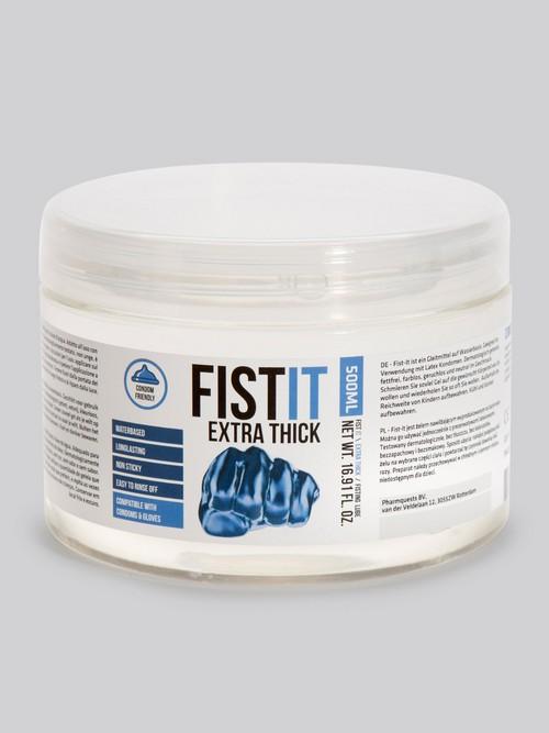 Lubrifiant fisting ultra épais à base d'eau 500 ml, Fist-It
