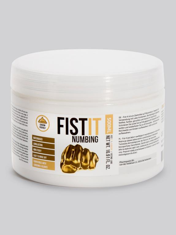 FIST IT Numbing Water-Based Anal Lubricant 500ml, , hi-res