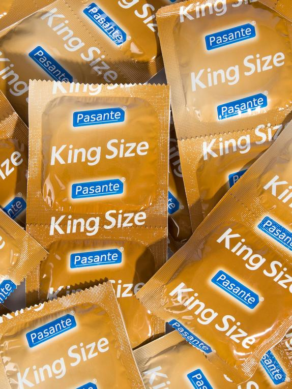 Pasante King Size Condoms (144 Pack), , hi-res