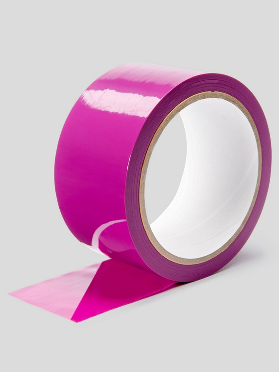 Lovehoney Purple Bondage Tape, Purple, hi-res