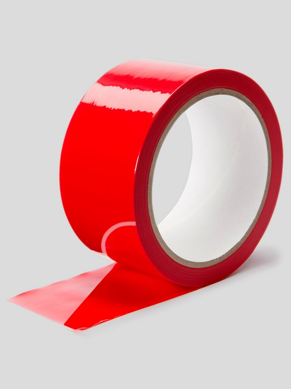 Lovehoney Red Bondage Tape, Red, hi-res