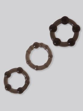 BASICS Triple Cock Ring Set (3 Pack)