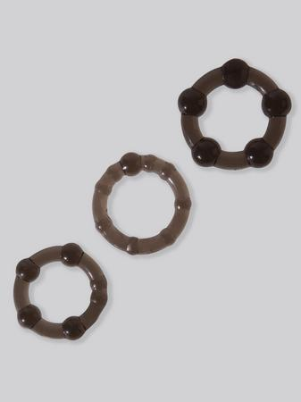 BASICS Triple Cock Ring Set (3 Count)