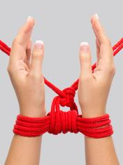 Bondage Boutique Soft Bondage Rope 10 Meter, Red, hi-res