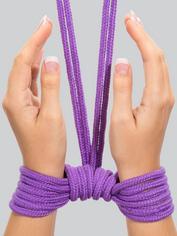 Bondage Boutique Soft Bondage Rope 10 Metre, Purple, hi-res