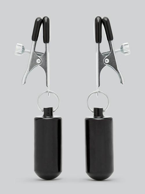 Pinces à tétons lestées de luxe, DOMINIX