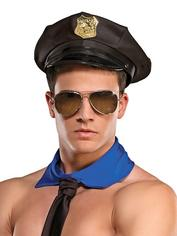 Male Power Police Hat, , hi-res