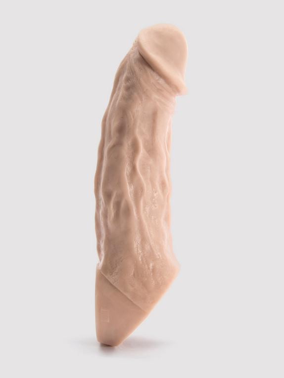 Vixen VixSkin Colossus Silicone Penis Extender 7 Inch, Flesh Pink, hi-res