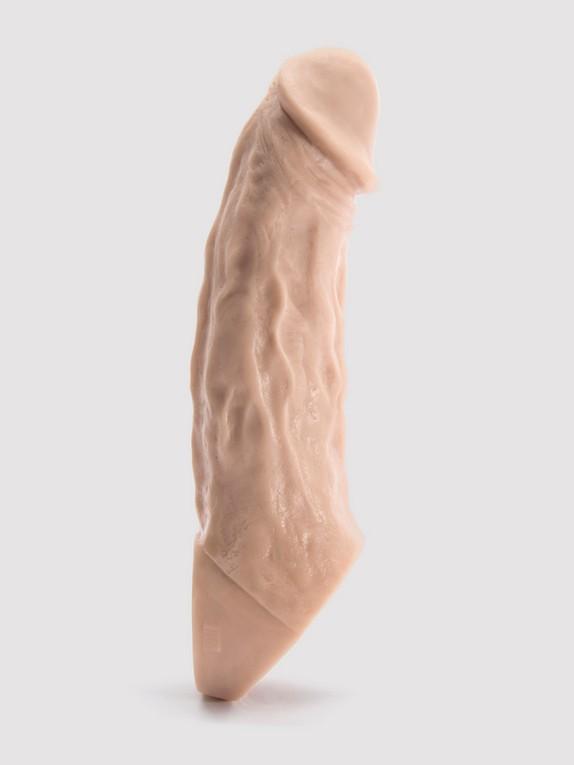Vixen VixSkin Colossus Silicone Penis Extender 7 Inch, Flesh Pink, hi-res