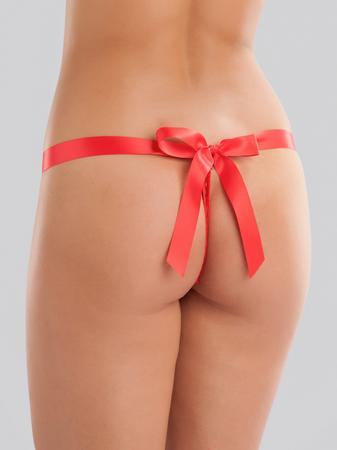 Lovehoney Unwrap Me Women's Red Thong