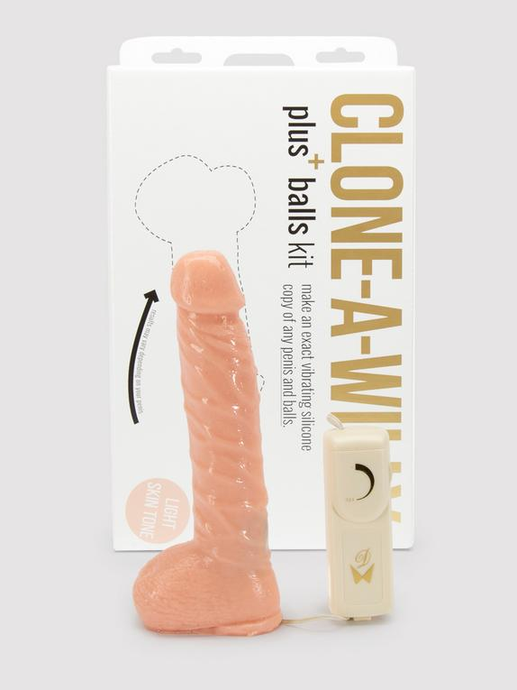 Clone-A-Willy and Balls Vibrator Molding Kit, Flesh Pink, hi-res