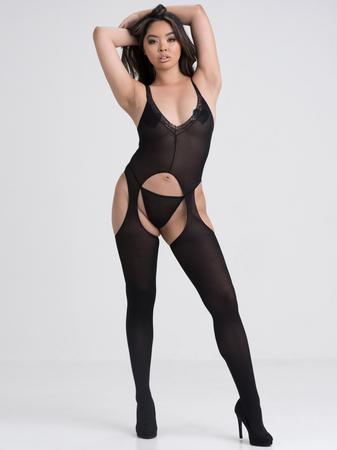 Lovehoney Dip It Low Plunging Crotchless Bodystocking