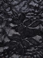 Pochette cadeau en dentelle et à cordons pour lingerie par Lovehoney, Noir, hi-res