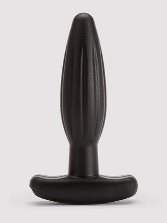 ElectraStim Bi-Polar Electrosex Silicone Noir Rocker Small Butt Plug