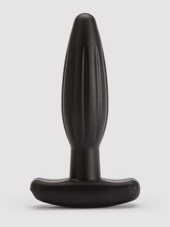 ElectraStim Bi-Polar Electrosex Silicone Noir Rocker Small Butt Plug, Black, hi-res
