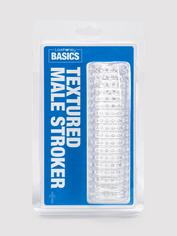 BASICS Clear Textured Stroker, Clear, hi-res