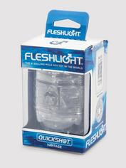 Fleshlight QUICKSHOT Vantage Compact Male Masturbator, Clear, hi-res