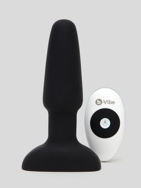 b-Vibe Remote Control Rechargeable Vibrating Rimming Butt Plug