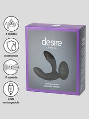 Desire Luxury Rechargeable Remote Control Prostate Massager, Black, hi-res