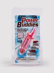 Power Buddies Clitoral Tongue Vibrator, Pink, hi-res