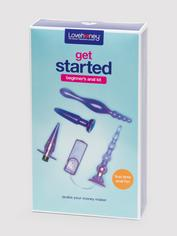 Lovehoney Get Started Beginner's Anal Kit (4 Piece), Purple, hi-res